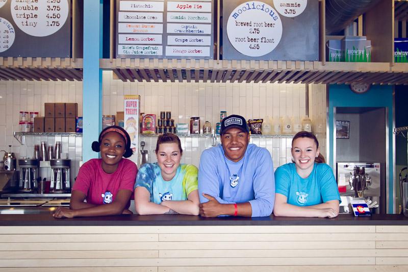 Sweet Cow Ice Cream | Moo Crew