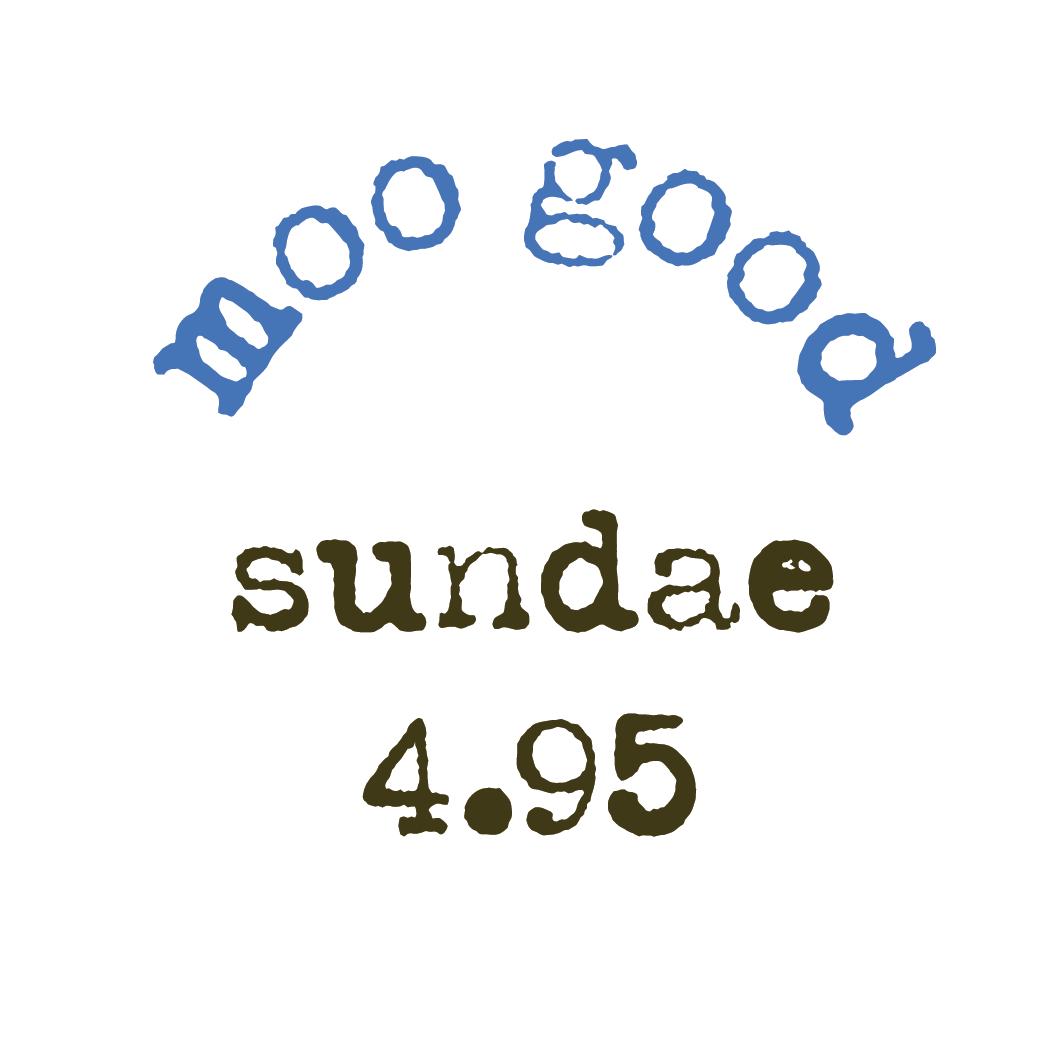 menu sweet cow ice cream